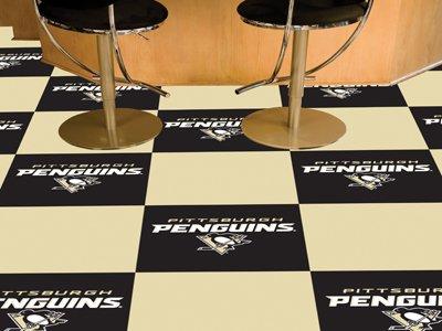 NHL Team Carpet Tiles Size: Square 1'6