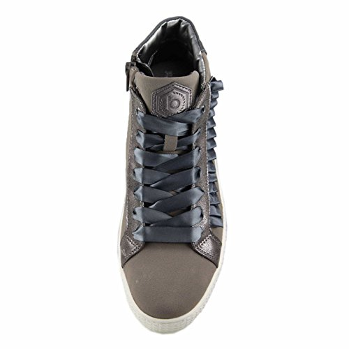 Bugatti Women's 422525305959 Hi-Top Trainers Grey (Grey / Metallics 1590) low cost for sale browse cheap online cheap get to buy ebay cheap price largest supplier for sale X8HVTul
