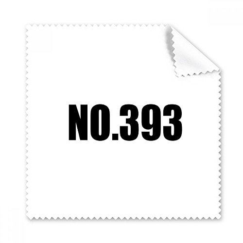 Glasses 393 (Lucky No.393 Number Name Glasses Cloth Cleaning Cloth Phone Screen Cleaner 5pcs Gift)