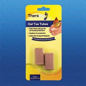 TheraStep   Set de tubos de silicona y del dedo del pie de x2   Se