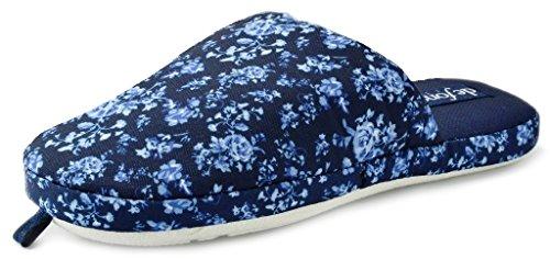 W300 Mod Da Blu De Pantofole Cotone Top Donna Roma Ciabatte Fonseca xRwCYwzq