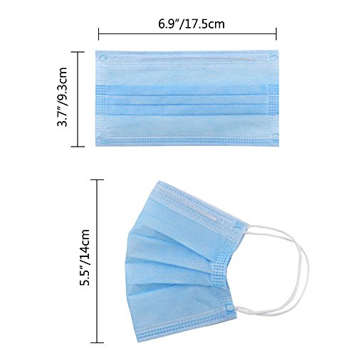 Colorful Earloop Disposable Surgical Mask for Medical Allergy, Pack of 160 by DEPEPE by DEPEPE (Image #1)