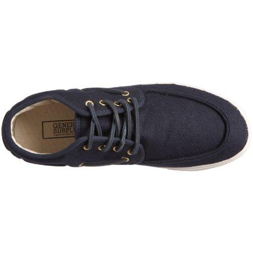 Generico Surplus Mens Mid Deck Fashion Sneaker Navy