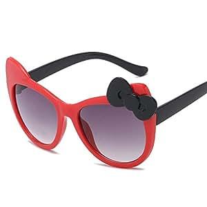 KCJKXC Gafas De Sol para Niños Encantadores Tonos Gato ...