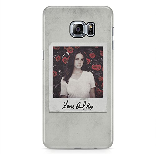 Lana Del Rey Polaroid Grunge Pale Pastel Red Roses Samsung Galaxy S6 EDGE PLUS Hard Plastic Phone Case Cover