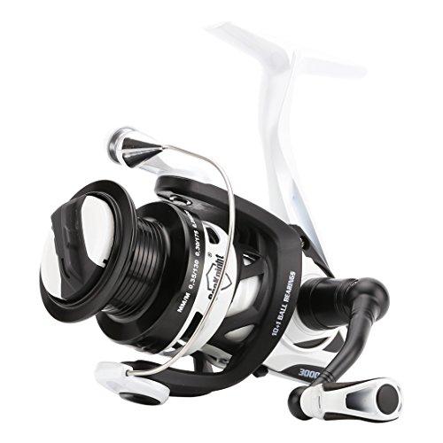 SeaKnight PH Spinning Reel Metal Body Carbon Rotor 6.2 1 Faster Stronger Spinning Fishing Reel Metal Shallow Spare Spool