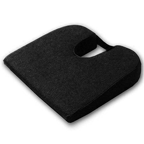 Tush Cush Car / Compu Computer Office Seat Cushion - Black