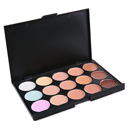 Vodisa 15 Color Cream Contour Kit-Ultra Concealer Palette, used for sale  Delivered anywhere in Canada