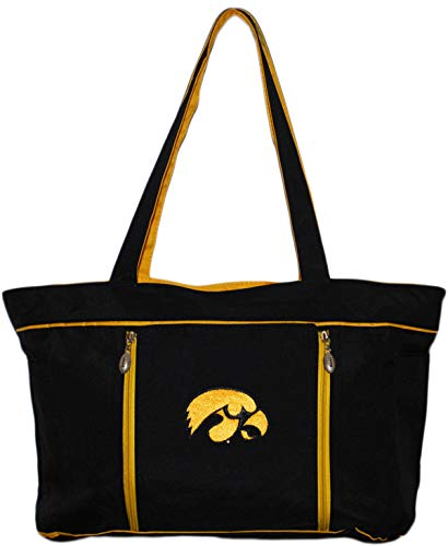 University of Iowa Hawkeyes Diaper Bag with Changing Pad