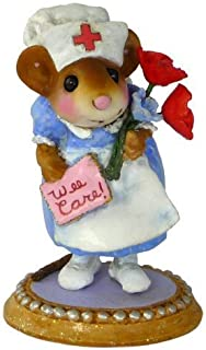product image for Wee Forest Folk Nurse Goodheart M470 Blue by Wee Forest Folk