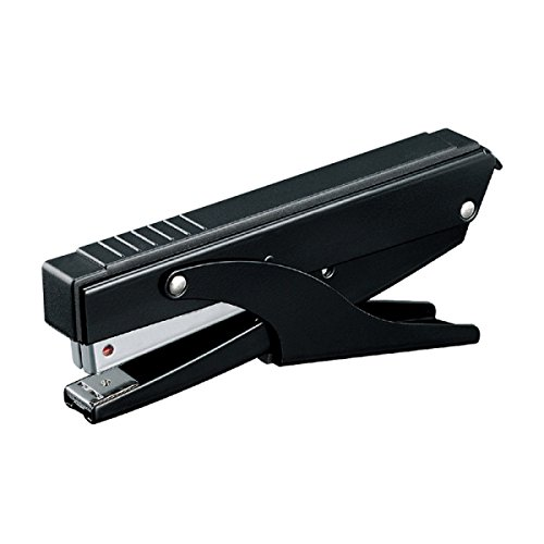 Stapler Hand Stapler Binding 20 Pages Medium Staplers Office Supplies Student Stationery Staplers,Black-OneSize by GHGJU