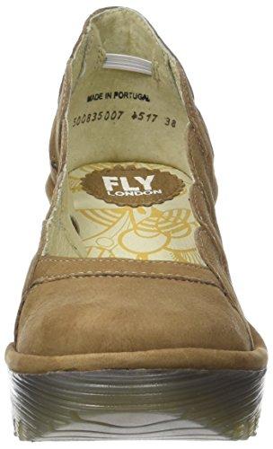 Yelk835fly Femme Bout Fermé London Marron Escarpins Fly Sand 5qvgTPx