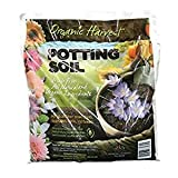 Organic Harvest Potting Mix Soil for Vegetables, Herbs and Flowers, 4 Quart (Packaging May Vary) (4 Bags)