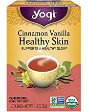 Yogi Tea, Cinnamon Vanilla Healthy Skin