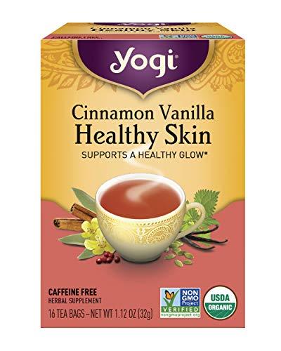 Yogi Tea, Cinnamon Vanilla Healthy Skin, 16 Count