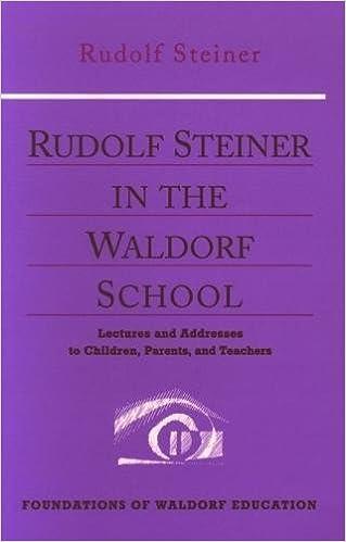 The first Waldorf School