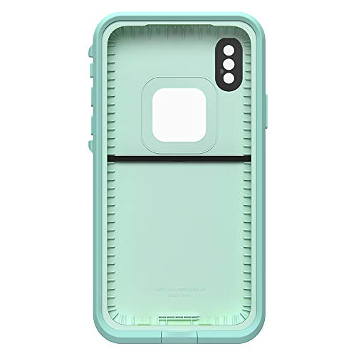 Lifeproof FRĒ Series Waterproof Case for iPhone Xs (ONLY) - Retail Packaging - Tiki (FAIR Aqua/Blue Tint/Lime) by LifeProof (Image #3)