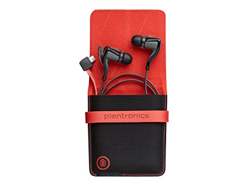 Plantronics Backbeat Go 2/R Headset, Black (88600-01)