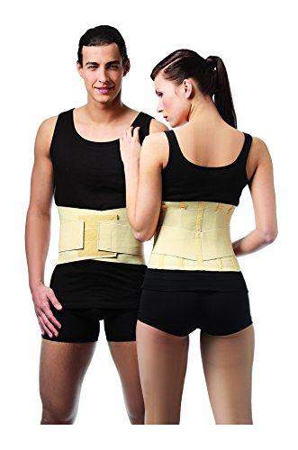 ®BeFit24 - (Size 4) Medical Lumbar Back Brace - Made in Europe - 5 Year Warranty (Vest Robin)