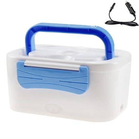 12 - 24 V eléctrico climatizada calentador de alimentos compacto portátil coche camión estufa horno almuerzo Bento Box: Amazon.es: Hogar
