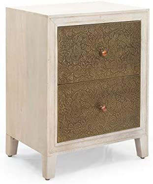 Christopher Knight Home Lillian Bedside Table