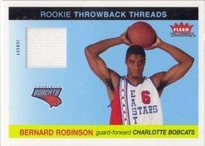 2004-05 Fleer Tradition Rookie Throwback Threads Jersey #23 Bernard Robinson Jsy ()