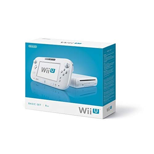 Nintendo Wii U Console 8GB Basic Set - White (Renewed)