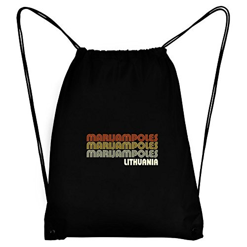 Teeburon Retro Color Marijampoles Sport Bag