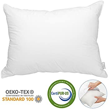 Amazon Com Langria Bed Pillow With Detachable Shredded