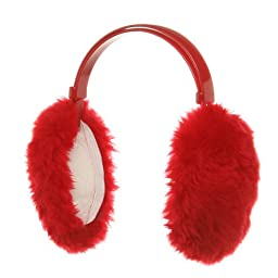 Ear Muffs - Red