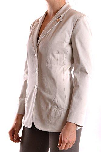 Beige Femme MCBI118061O Negra Coton Etiqueta Blazer CqHSxnB
