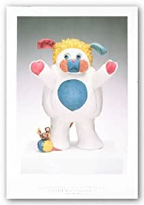 "Popples by Jeff Koons 32.25""x22.75"" Art Print Poster"