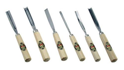 Two Cherries 505-0006 Professional Carving Tools, 6-Pack