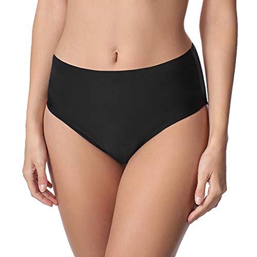 Kingko  ® Damen Frauen Bikini Unterteil Hose Hipster-Shorts V Schnitt Bikini Hose/High Waist Bikinihose/Slip Bikinislips Dame Bademode Schwarz JCPso6fP 60% AUS