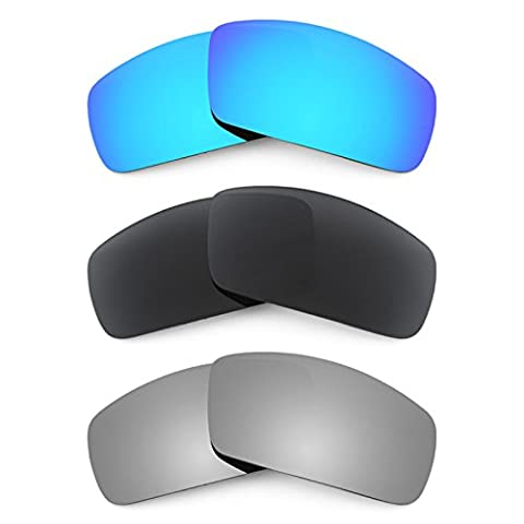 Revant Replacement Lenses for Oakley Canteen (2006) 3 Pair Combo Pack K015 (Canteen Combo)