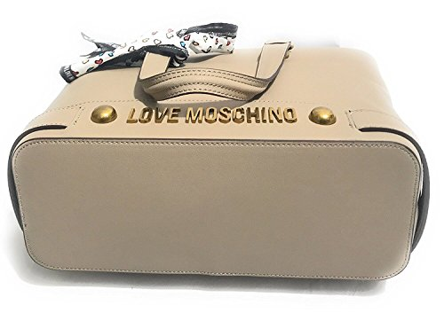 Donna Scarf Love Moschino Natural Tote 17wqEqpxZ