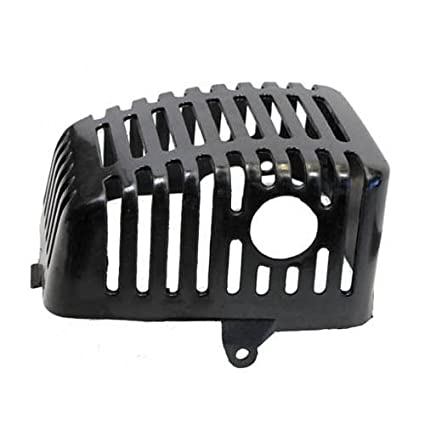 Plastic Muffler cover for 33cc, 36cc 2-stroke motor (stand up scooter)