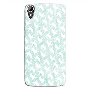 Cover It Up - White Bird Print Desire 828 Hard Case