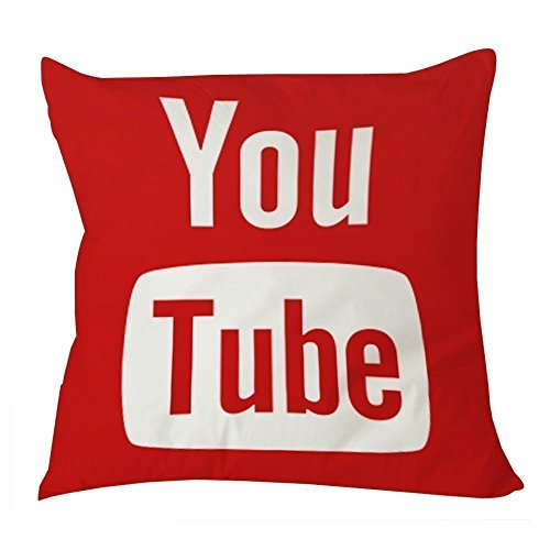 Youtube Social Media Pillow 20x20 product image