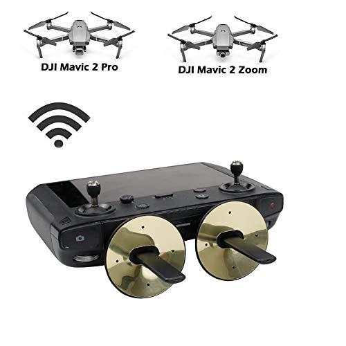 BTG Signal Booster, Signal Extender Transmitter Antenna Signal Range Booster Compatible with DJI Spark/Mavic Air/Mavic Pro/DJI Mavic 2 PRO/Zoom w/DJI Smart Controller