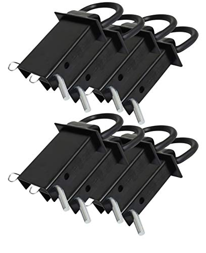 Trailer Stake Pocket D-Ring Flatbed Utility Replaces Buyers Products B38SP (8 - Pack)