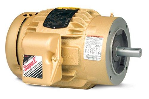 BALDORVEM3665T Three Phase, Totally Enclosed, C-Face, Footless, General Purpose Motor, 5 hp, 1755 RPM, 3PH, 60 Hz, 184TC, 0641M, TEFC, F1, 208-230/460V, - Enclosed Motor Phase Totally Three
