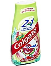 Colgate Kids Watermelon 2 in 1 Toothpaste & Mouthwash 4.6 oz (Pack of 12)