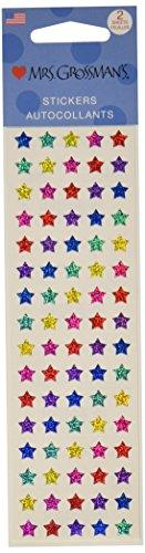 Mrs. Grossman's Stickers-Multi Micro Stars