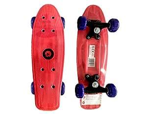 Leo Skate Board 17 inch - red