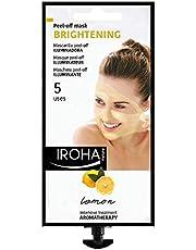 Iroha Nature Creamy Peel-off Gezichtsmasker - Reinigend - Citroen, voor 5 x gebruik