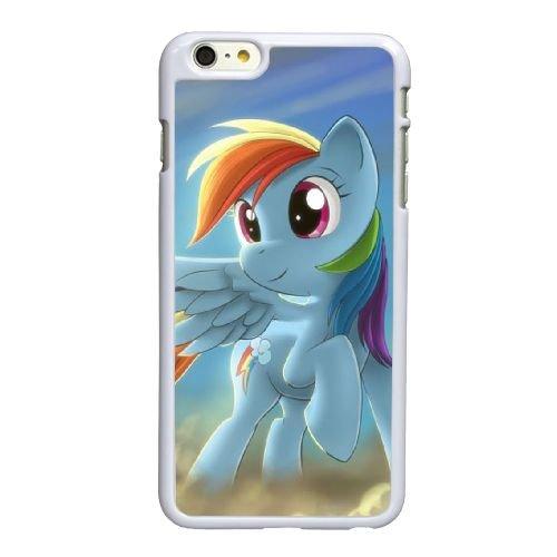 W6Y93 My Little Pony animation poney Rainbow Dash O3D7VV coque iPhone 6 4.7 pouces cas de couverture de téléphone portable coque blanche WU8DDH2VA