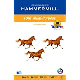Hammermill Printer Paper, Fore MP Copy Paper, 24lb, 11 x 17, Ledger, 96 Bright - 1 Pack / 500 Sheets (102848R)