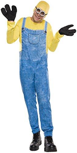Rubie's Men's Minion Movie Minion Costume, Bob, X-Large