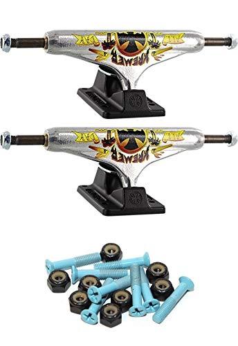 独立ステージ 11-149mm 中空 オールデイ スタンダード 5.87インチ スケートボード トラック 1インチ ライトブルー 取り付け金具付き   B07GTGX2DD